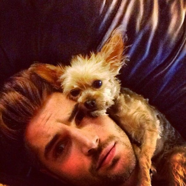 his dog4