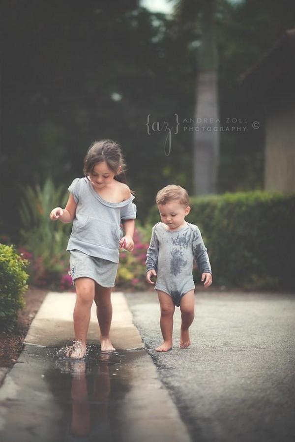 niños en la lluvia17