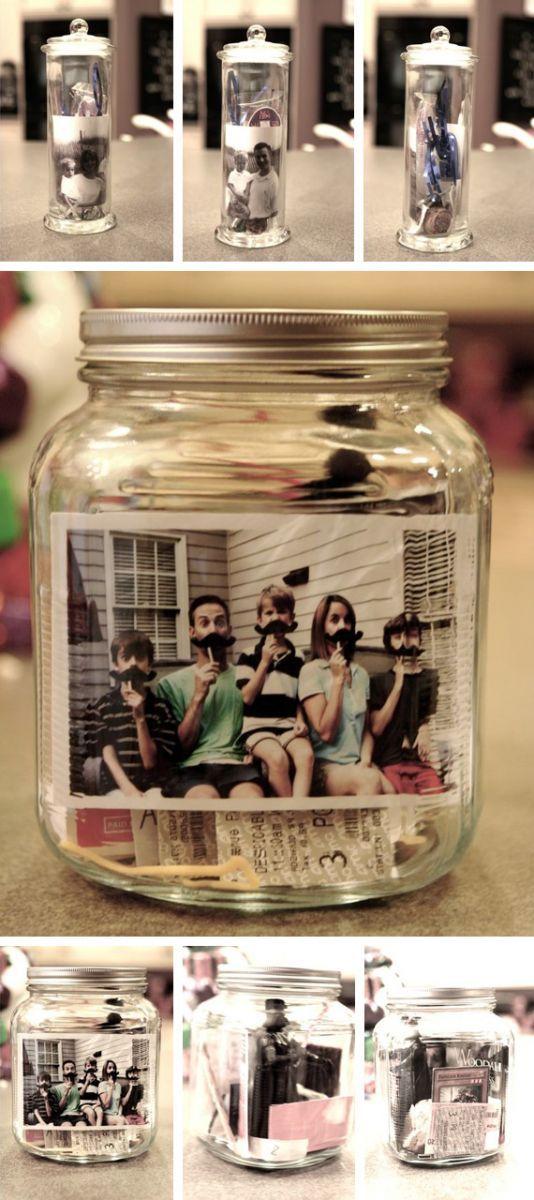 Los 13 regalos m s originales hechos con un frasco - Ideas originales con fotos ...