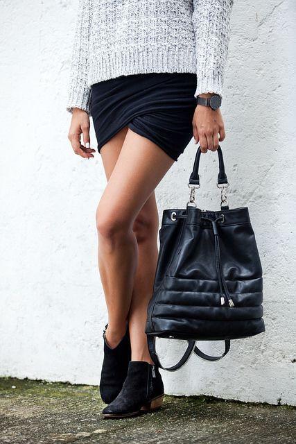 shorter skirt