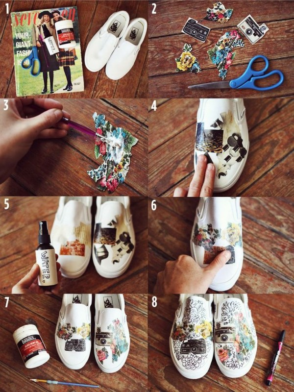 sneakers decor ideas