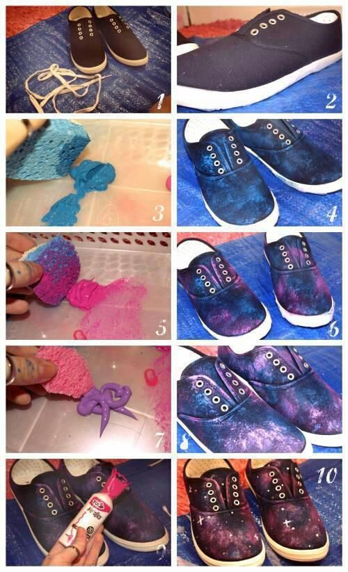 sneakers decor ideas8