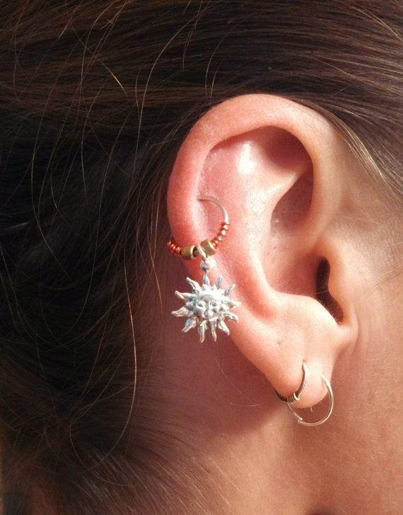Cartilage hoop Earring,10
