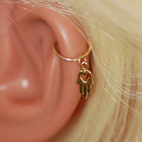Cartilage hoop Earring,9