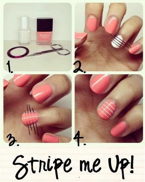 Nail-art-tutorials-for-short-nails