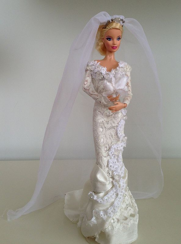 barbie wedding dress10