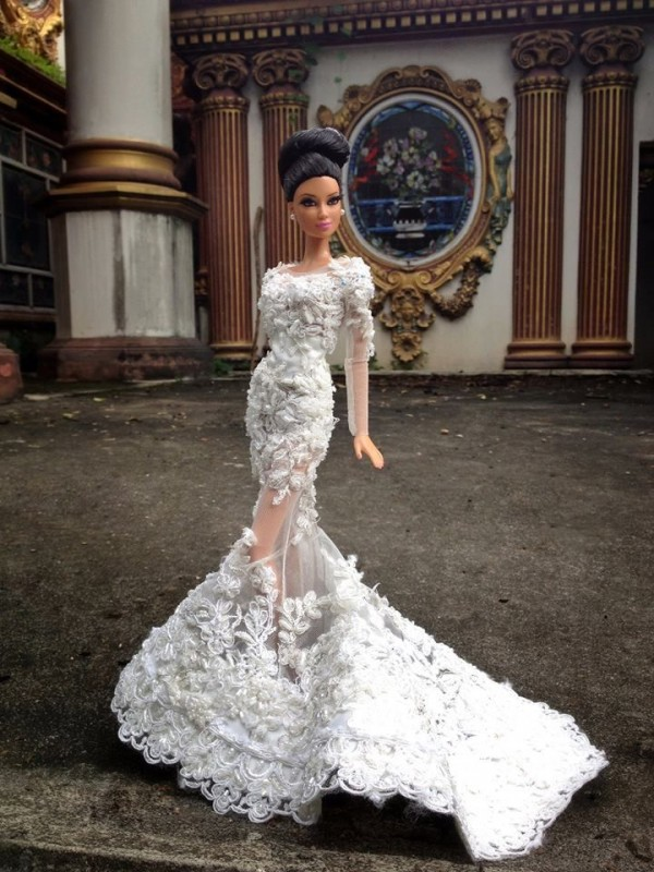 barbie wedding dress18