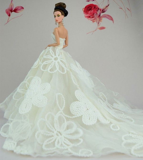 barbie wedding dress19