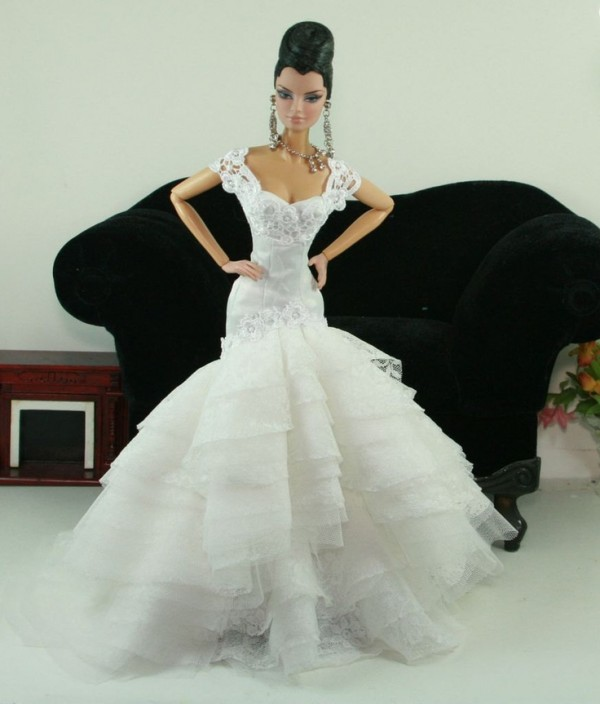 barbie wedding dress2