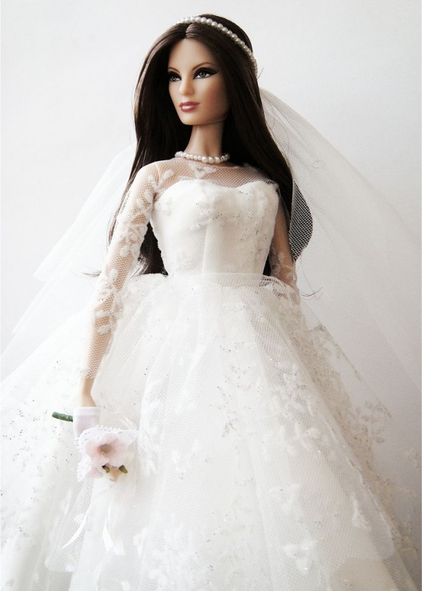barbie wedding dress20