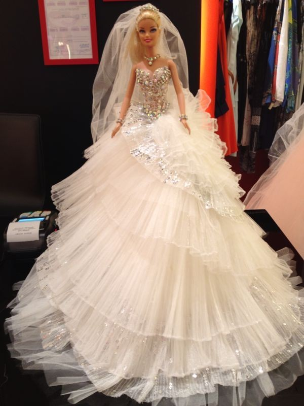barbie wedding dress24