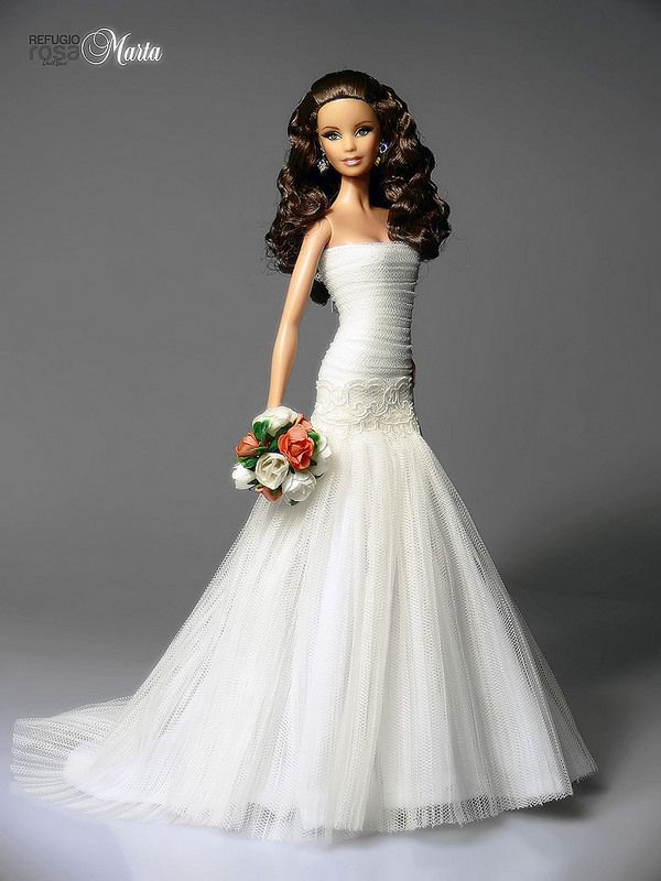 barbie wedding dress4