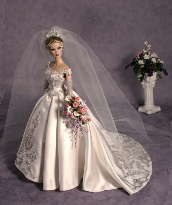 barbie wedding dress7