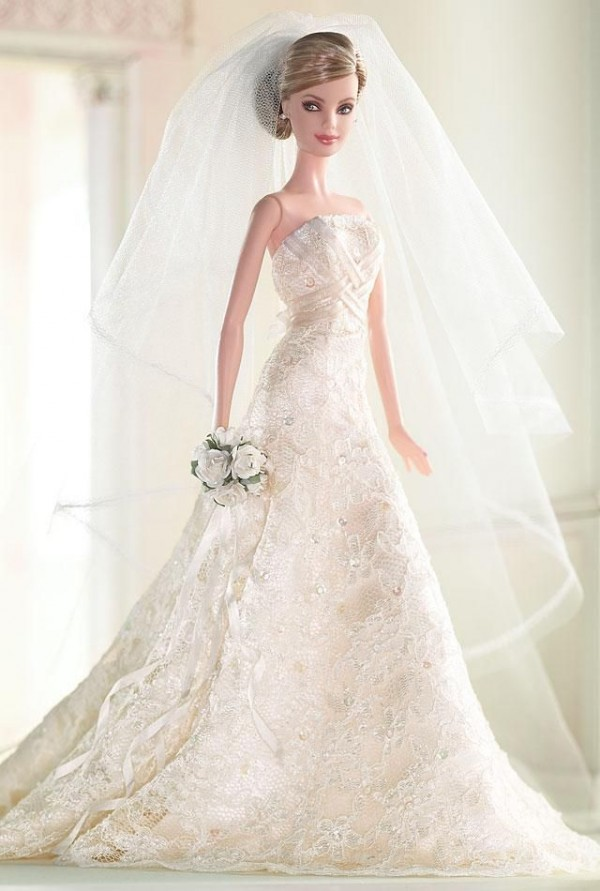barbie wedding dress9