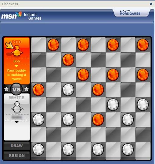 checkers-messenger