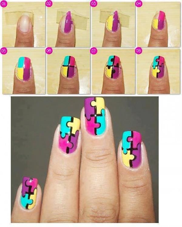 Diseños de uñas paso a paso para las que somos cero hábiles
