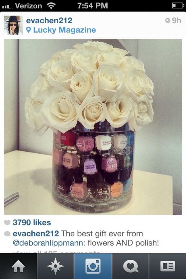bouquet nail