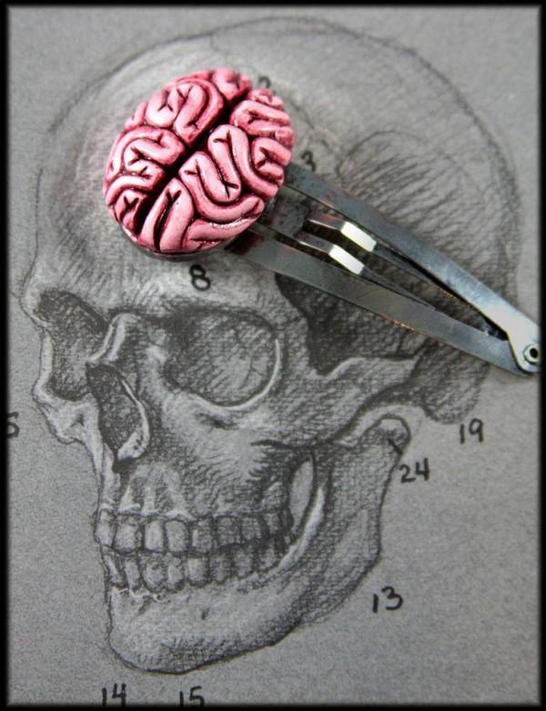 brain-hair-clip