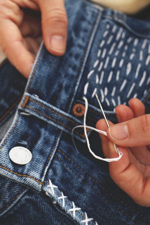 jeans renovados