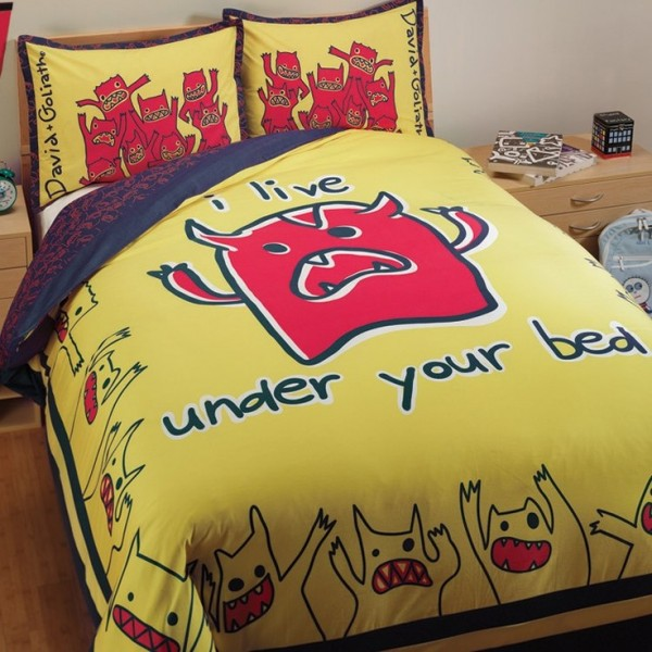 monster duvet