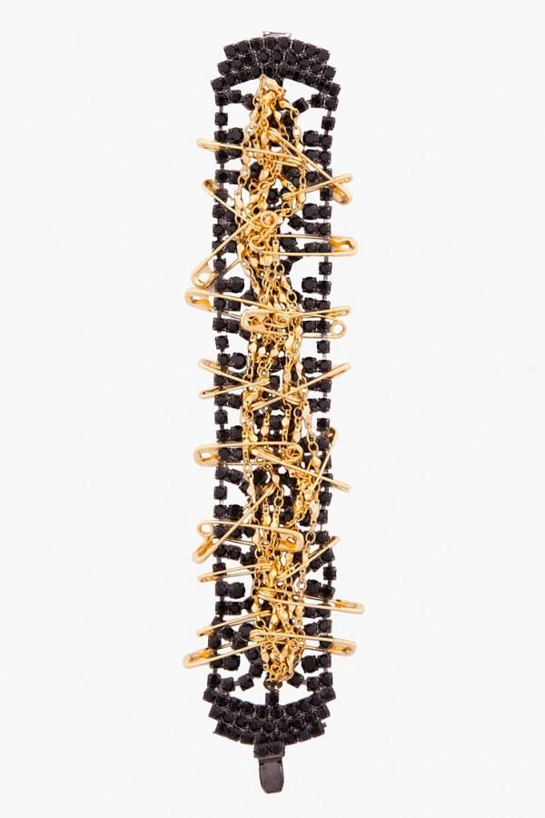 pulsera-negra-dorado