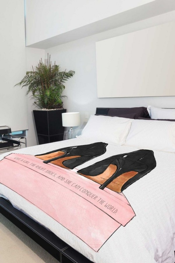 shoes duvet