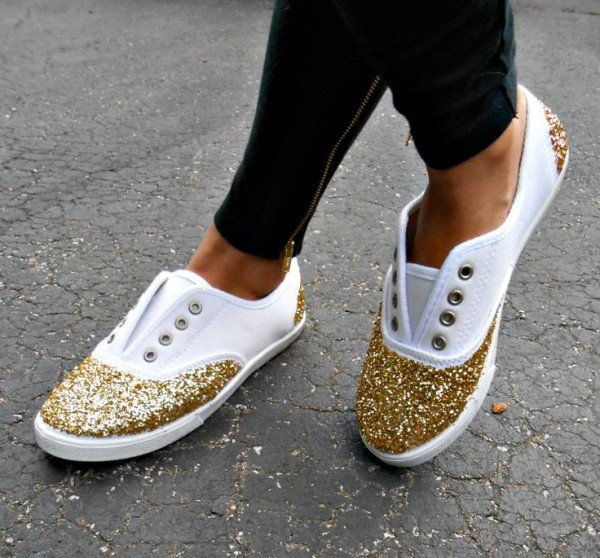 shoes glitter