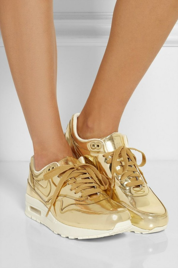 shoes golden