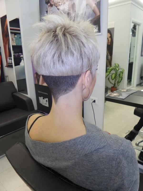 under hair cut