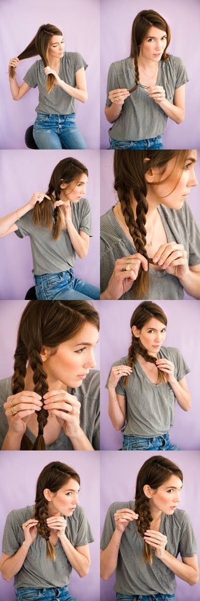 5 minutes hairstyles