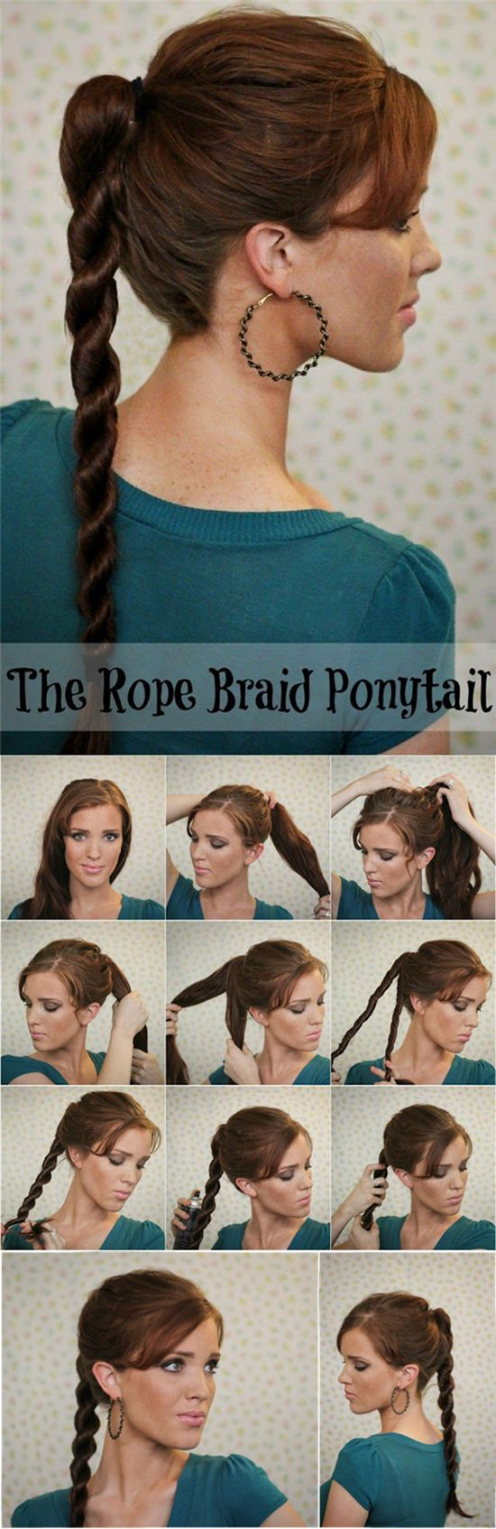 5 minutes hairstyles14