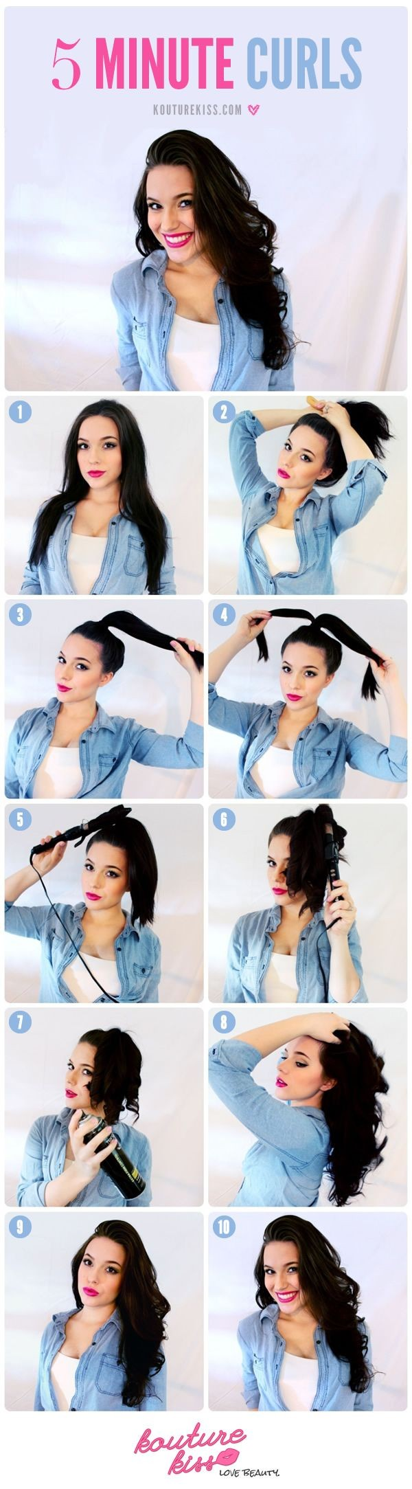 5 minutes hairstyles2