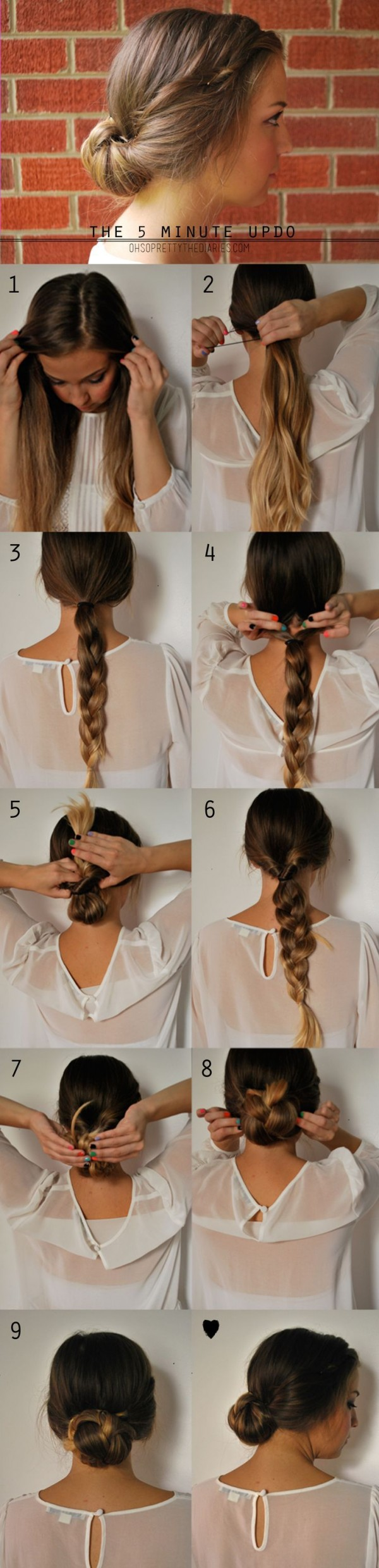5 minutes hairstyles3
