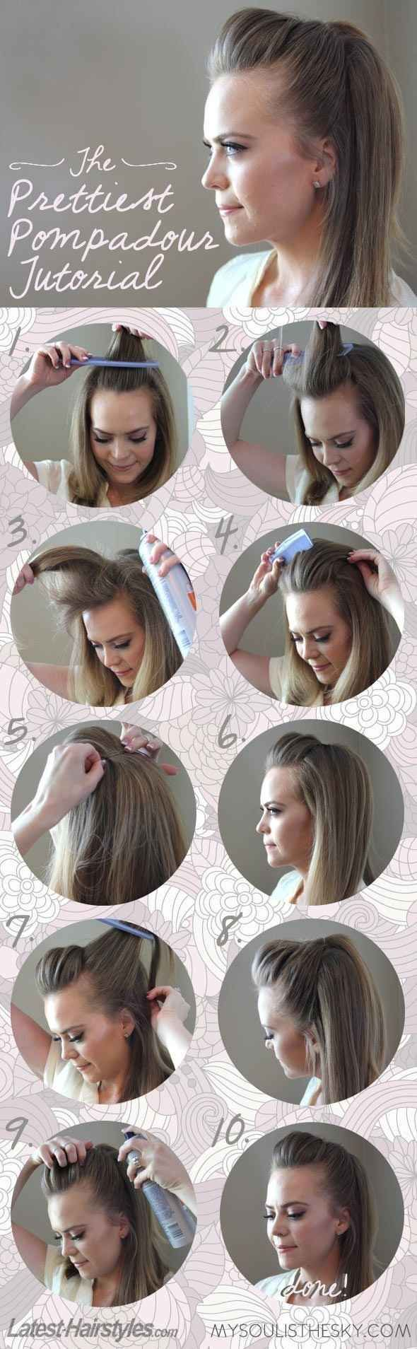 5 minutes hairstyles4