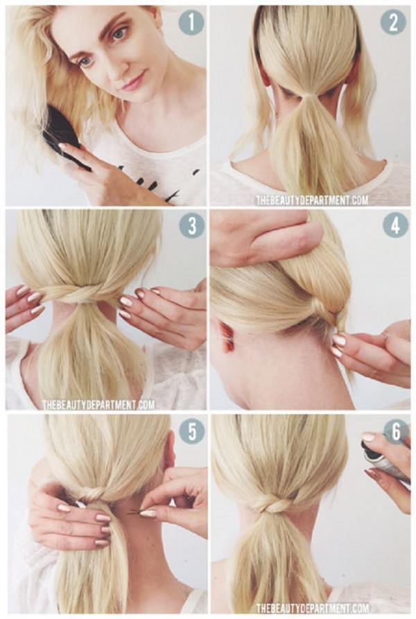 5 minutes hairstyles8