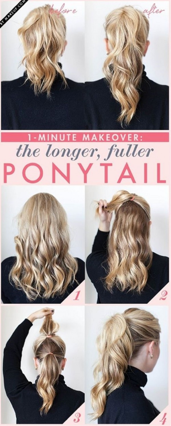 5 minutes hairstyles9