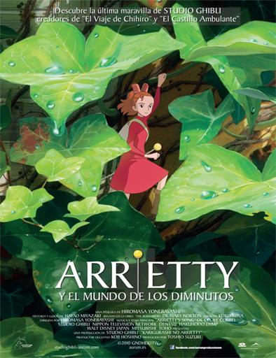 Arriety y el mundo de los diminutos