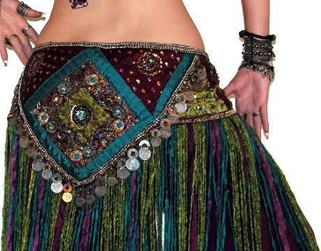 belly dance hip