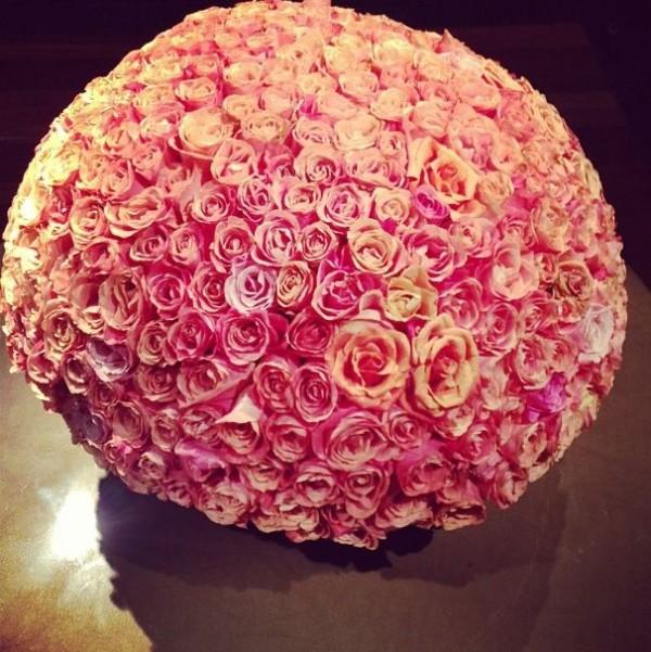 bola rosas