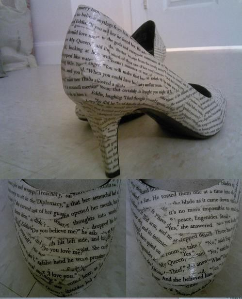 books shoes