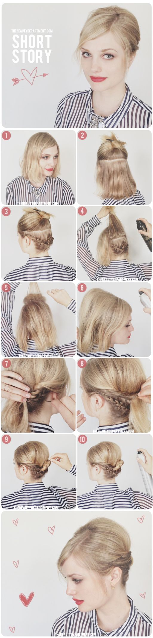 braid short hair8
