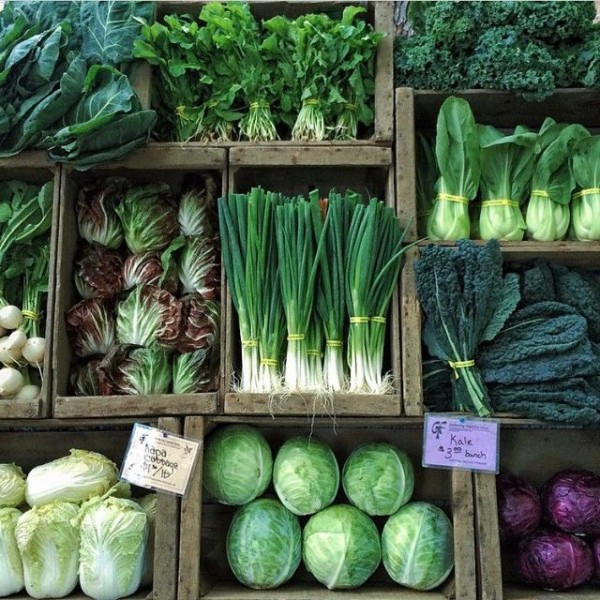 green vegtables