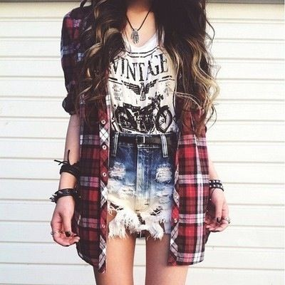 plaid shirt13