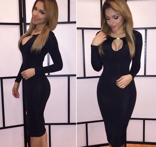 vestidos justos