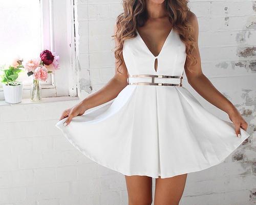 white dress20