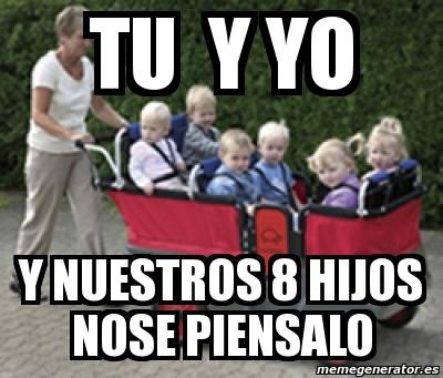 8 hijos