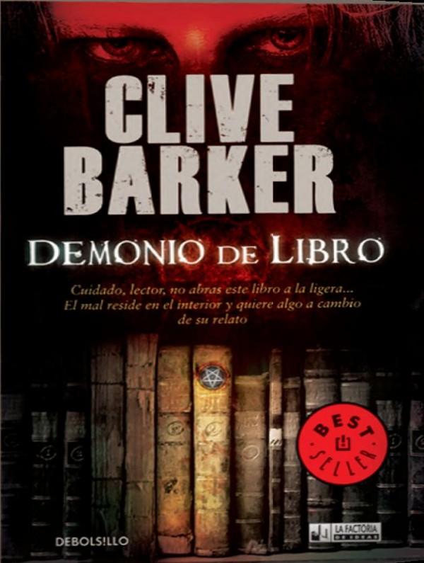 Demonio de libro de Clive Barker