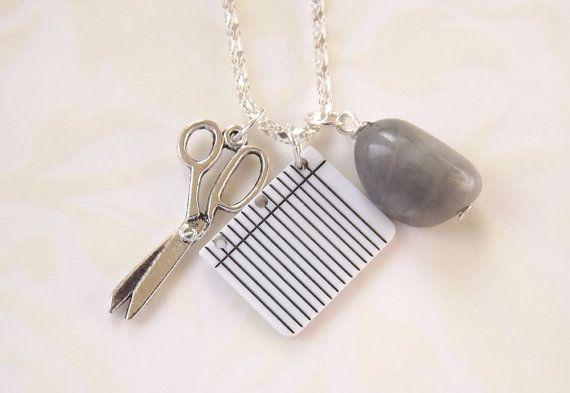 Rock Paper Scissor Necklace12