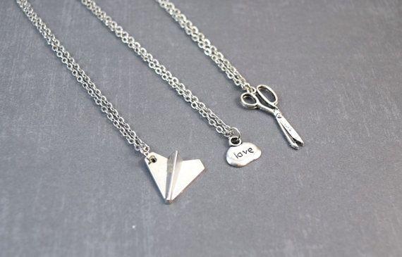 Rock Paper Scissor Necklace5