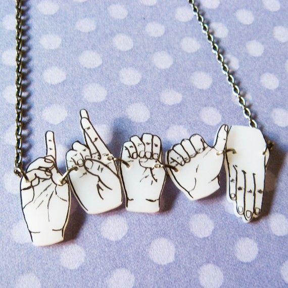 Rock Paper Scissor Necklace7